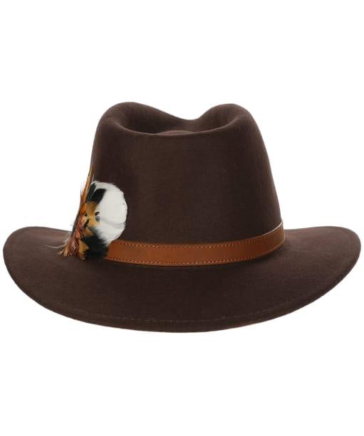 Alan Paine Richmond Felt Hat - Brown
