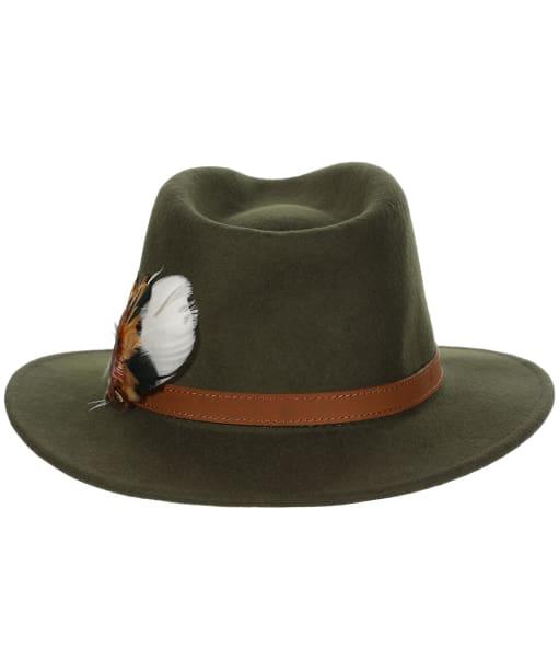 Alan Paine Richmond Felt Hat - Olive