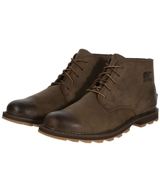 Men's Sorel Madson™ Waterproof Chukka Boots - Cordovan