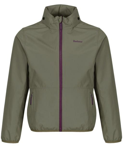 Boy's Barbour Terrace Waterproof Jacket 2-9yrs - Light Moss