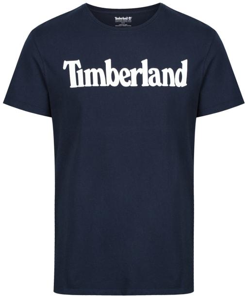 Men's Timberland Kennebec River Brand Tee - Dark Sapphire Linear