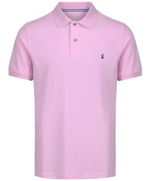 Men's Joules Woody Classic Polo Shirt - Pastel Pink
