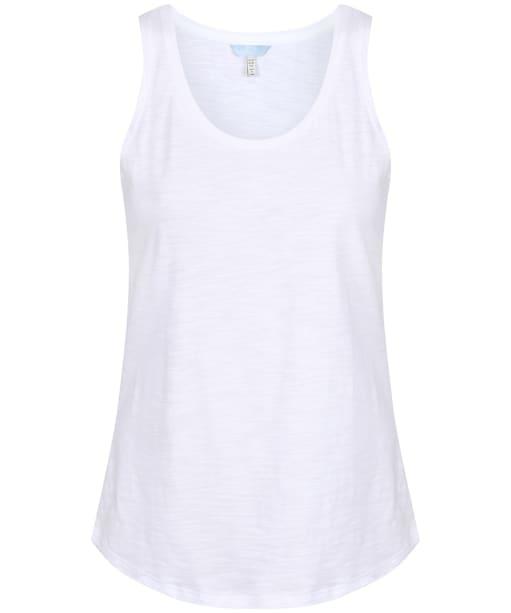 Women's Joules Bo Vest Top - Bright White