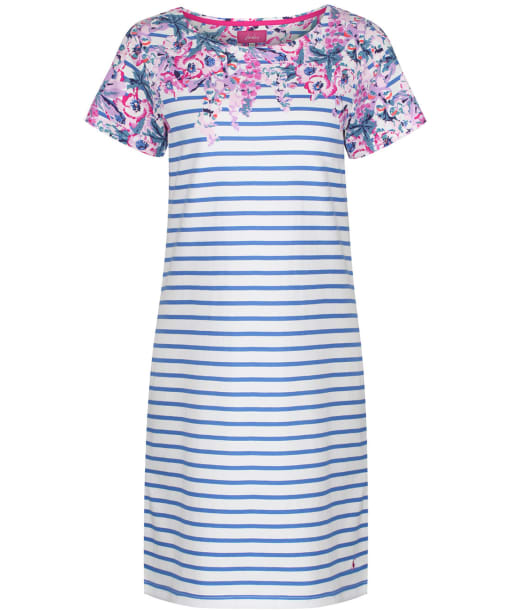 Women's Joules Riviera Print Dress - Blue Floral Stripe