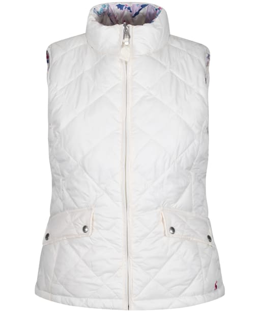 Women's Joules Holbrook Reversible Gilet - Cream