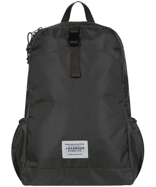 Barbour Kilburne Packaway Backpack - Army Green