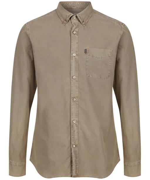 Men's Barbour x Sam Heughan Cagney Shirt - Military Brown