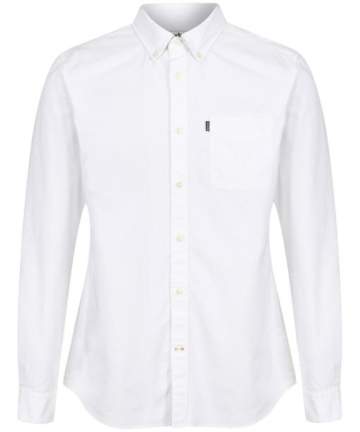 Men's Barbour x Sam Heughan Cagney Shirt - Whisper White