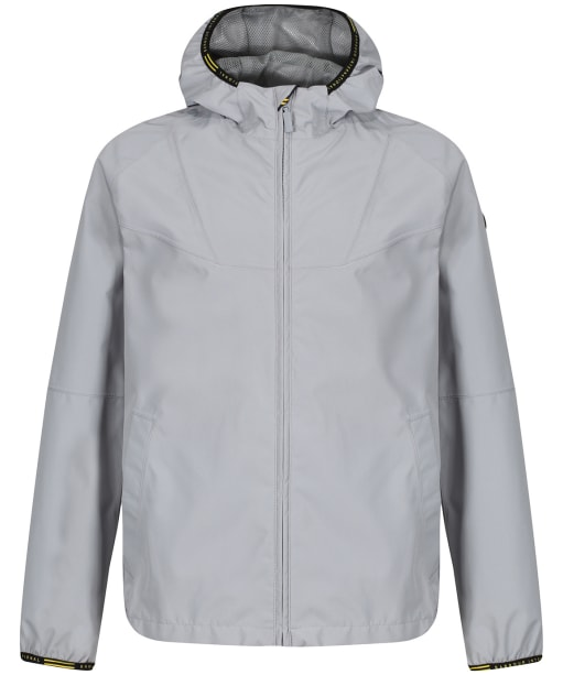 Boys Barbour International Grange Waterproof Parka Jacket, 10-15yrs - Soft Grey
