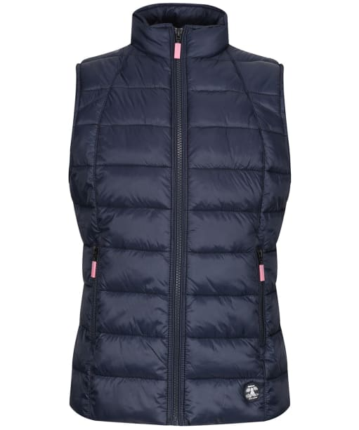 Girls Barbour Deerness Quilted Gilet, 10-15yrs - Navy