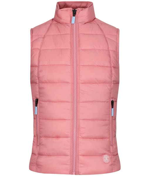 Girls Barbour Deerness Quilted Gilet, 10-15yrs - Vintage Rose