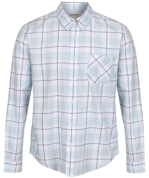 Men's Timberland Souhegan River Twill Checks Shirt - Skyway