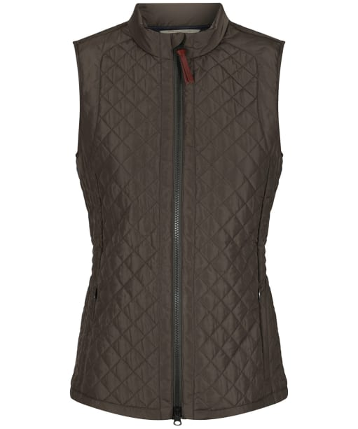 Women's Aigle Mujal Quilted Vest - Bronze