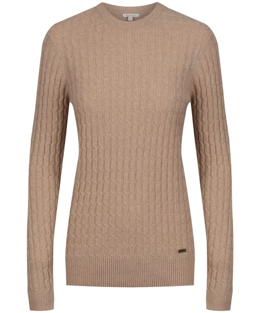 Women's Barbour Langdale Crew Neck Lambswool Sweater - Trench