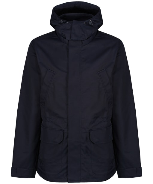 Men's Crew Clothing Weather Jacket - Dark Navy