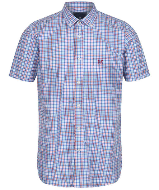 Men's Crew Clothing Multi Check Shirt - Blue Multi