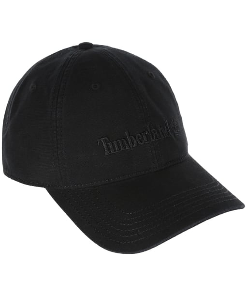 Men's Timberland Cotton Canvas Baseball Cap - Black