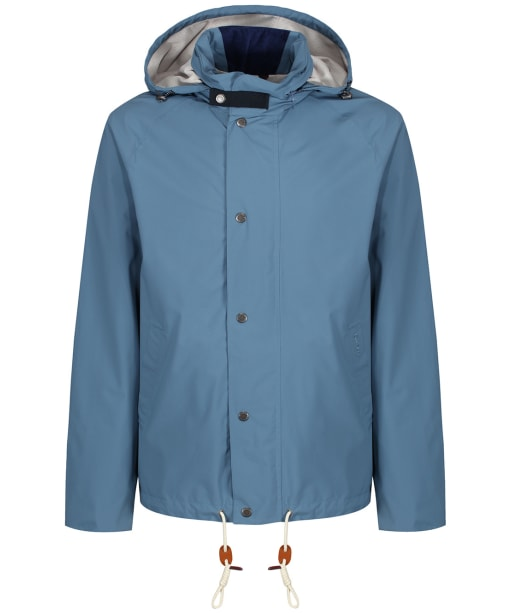 Men's Barbour Clanfield Waterproof Jacket - Dark Chambray