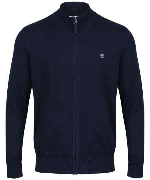 Men's Timberland Williams River Full Zip Sweater - Dark Navy