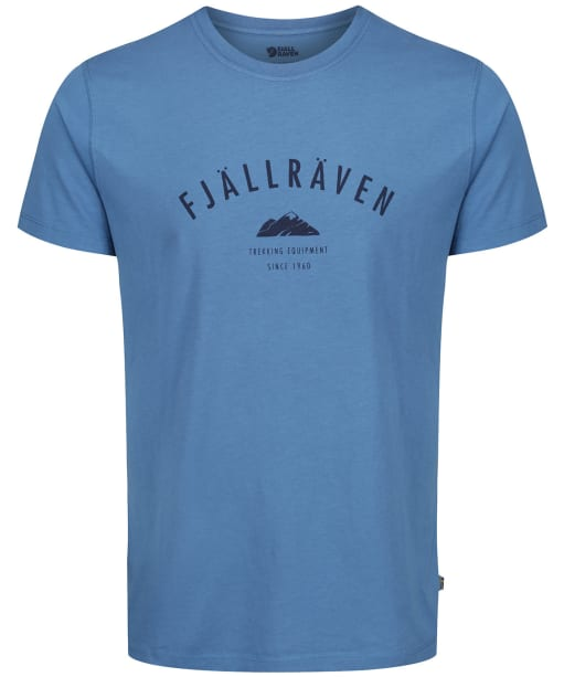 Men's Fjallraven Trekking Equipment T-Shirt - Blue Ridge