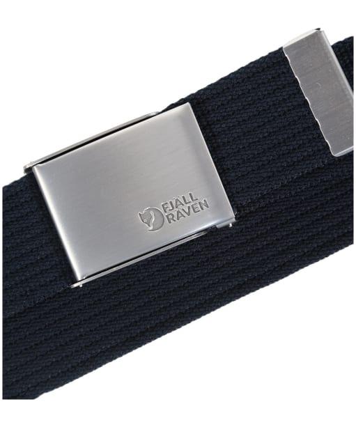 Men's Fjallraven Canvas Belt - Dark Navy