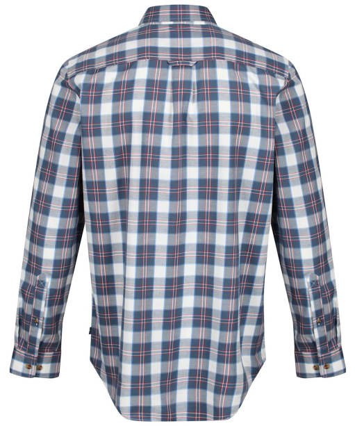 Men's Fjallraven Singi Flannel Shirt - Uncle Blue
