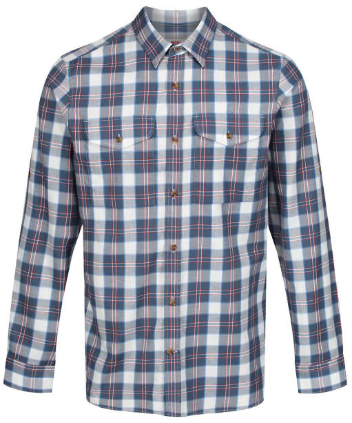 Men's Fjallraven Singi Flannel Shirt - Uncle Blue