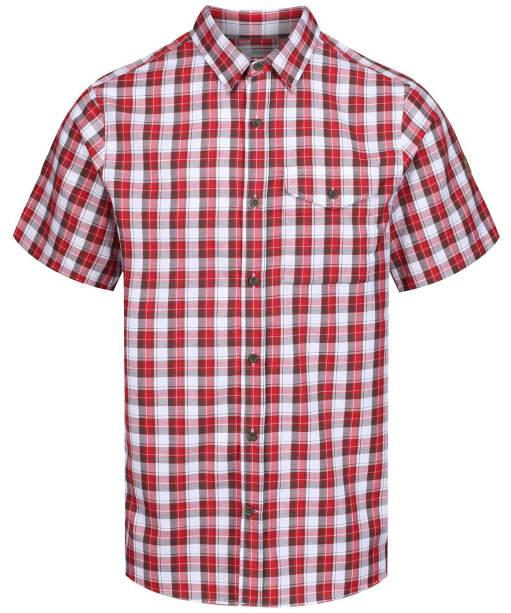 Men's Fjallraven Singi Shirt Short Sleeve - Lava