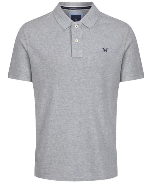 Men's Crew Clothing Classic Polo Shirt - Grey Marl