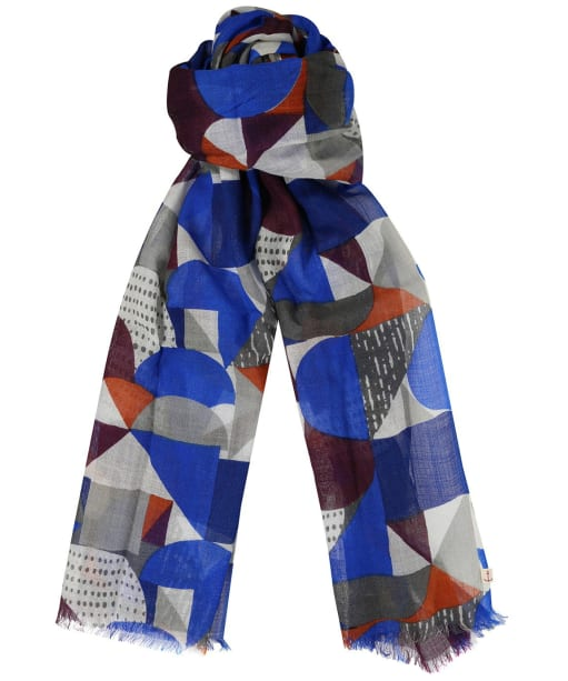 Women's Seasalt Pretty Printed Scarf - Studio Boats Ecru