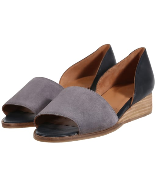 Women's Seasalt Ida Peep Toe Shoes - Stormcloud