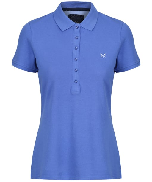Women's Crew Clothing Classic Polo Shirt - Amparo Blue