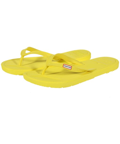 Women's Hunter Original Flip Flops - Wader Yellow