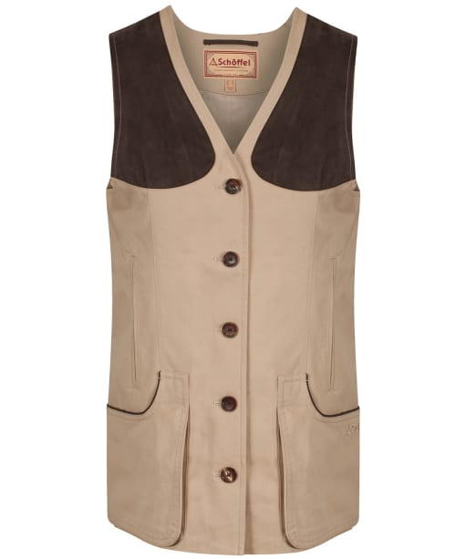 Women's Schoffel All Season Shooting Vest - Camel