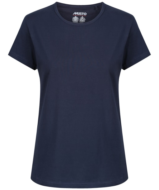 Women's Musto Favourite T-Shirt - True Navy
