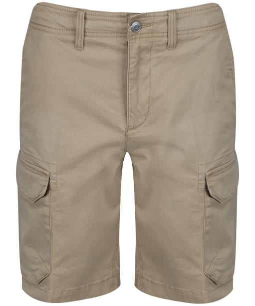 Men's Timberland Webster Lake Stretch Twill Classic Cargo Shorts - British Khaki
