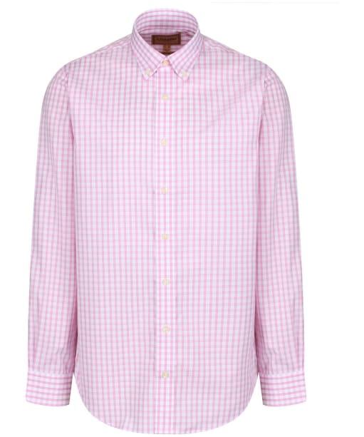Men's Schöffel Harlyn Shirt - Pink / White Micro