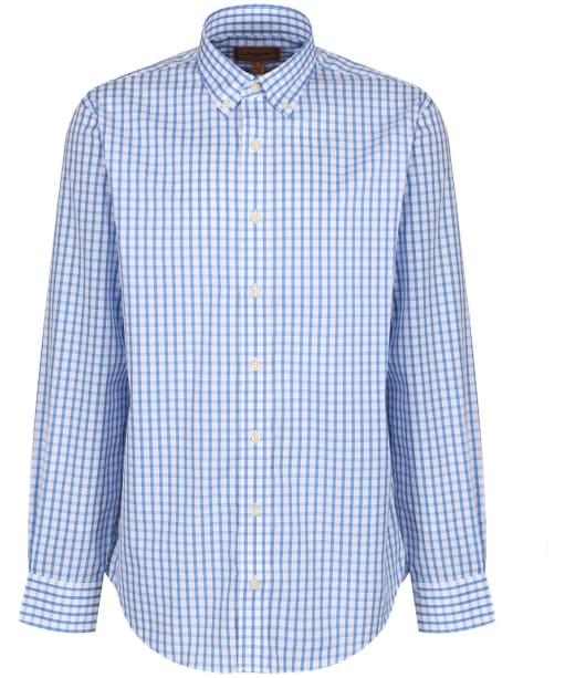 Men's Schöffel Harlyn Shirt - Navy / White Micro