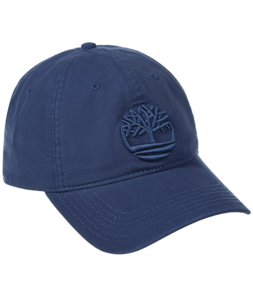 Timberland Cotton Canvas Cap - Ensign Blue
