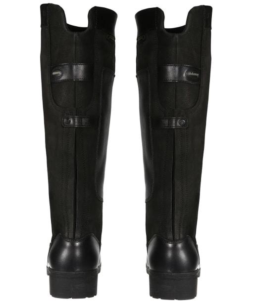 Women's Dubarry Clare Waterproof Leather Boots - Black