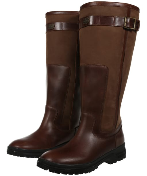Le Chameau Jameson Wide Fit Boots - Camel