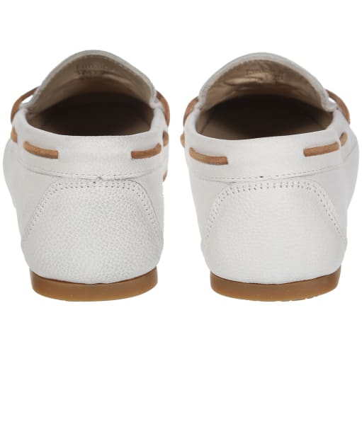 Women's Dubarry Jamaica Boat Shoes - Sail White