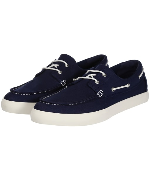 Men's Timberland Union Wharf 2 Eye Boat Shoes - Navy Canvas