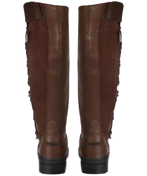 Women's Ariat Grasmere H2o Full Calf Waterproof Boots - Chocolate