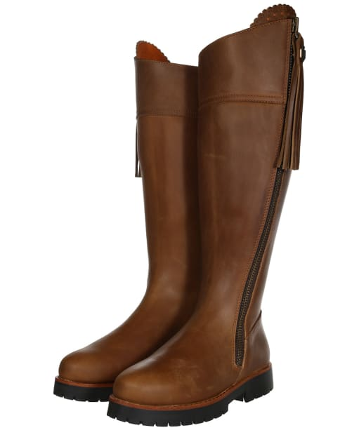 Women's Fairfax and Favor Imperial Explorer Sporting Fit Boots - Oak Leather