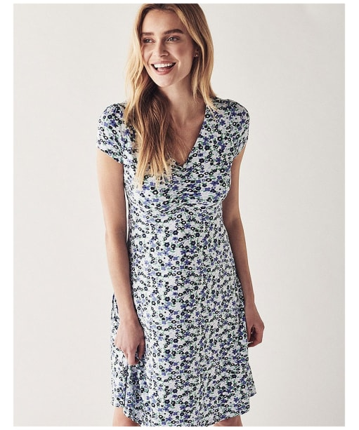 Women's Crew Clothing Jersey Tea Dress - Spring Bloom