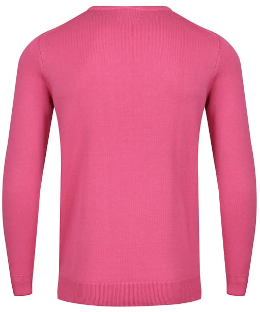 Men's Alan Paine Hempton Long Sleeve Crew Neck Sweater - Blush