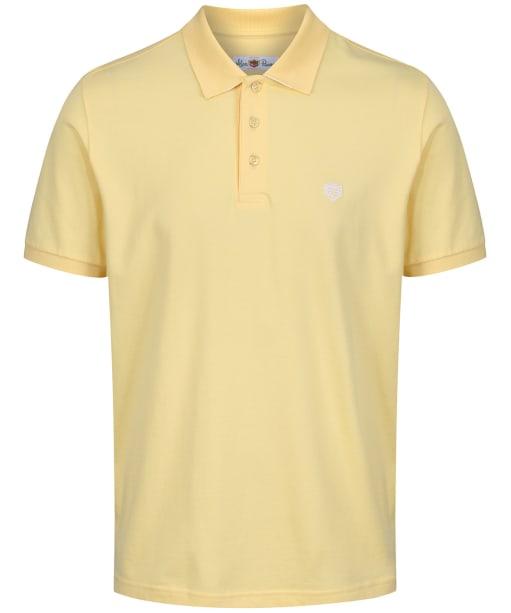 Men's Alan Paine Falmouth Pique Polo Shirt - Lemon