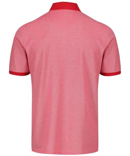 Men's Alan Paine Kirdford Oxford Pique Polo Shirt - Red