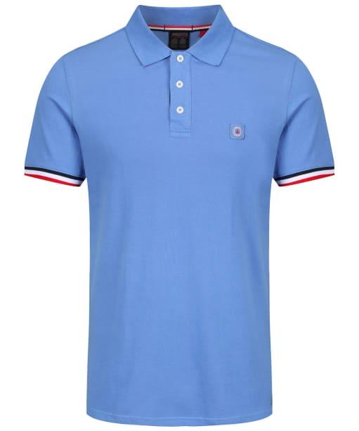 Men's Musto Cove Short Sleeve Polo Shirt - Coastal Blue